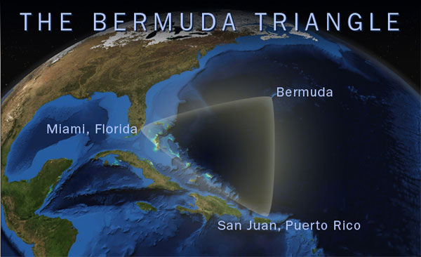 The Bermuda Triangle. Source: NOAA
